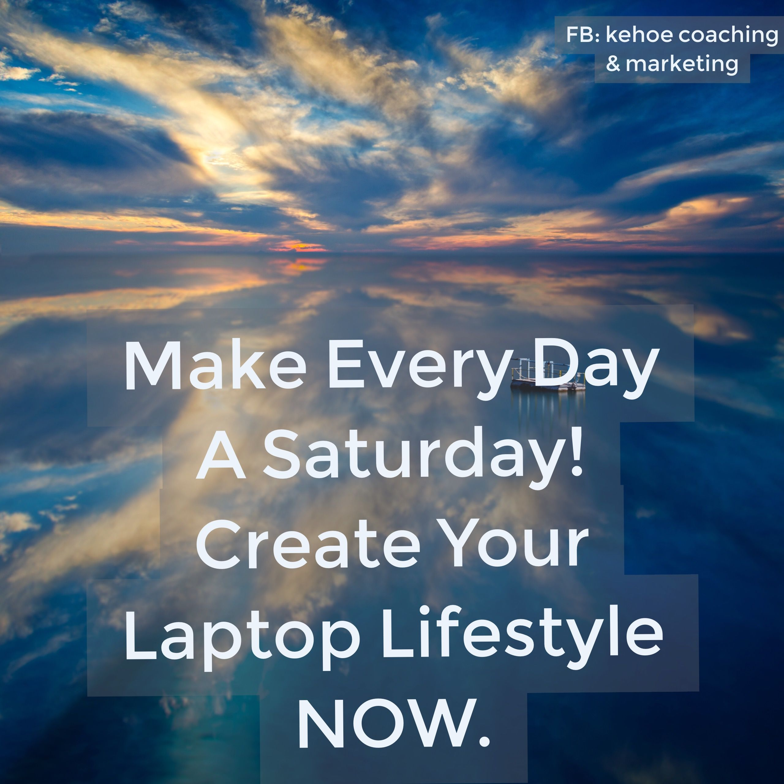 """Check out our 90% done for you system. Plug in learning your 10% and create your very own """"Laptop Lifestyle"""". www.yesfreeyourlife.com"""