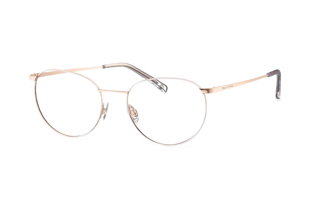 Marc O Polo 502136 20 Brille In Rosegold Semi Matt Weiss In 2020 Mirrored Sunglasses Sunglasses Glasses