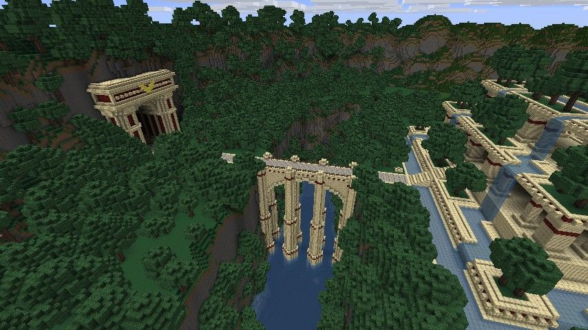 Hanging Gardens Minecraft Project   Minecraft, Hanging ...