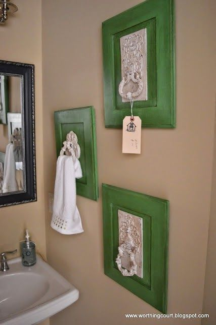 House Revivals: 11 Creative Ways to Hang Your Towels | Old ...