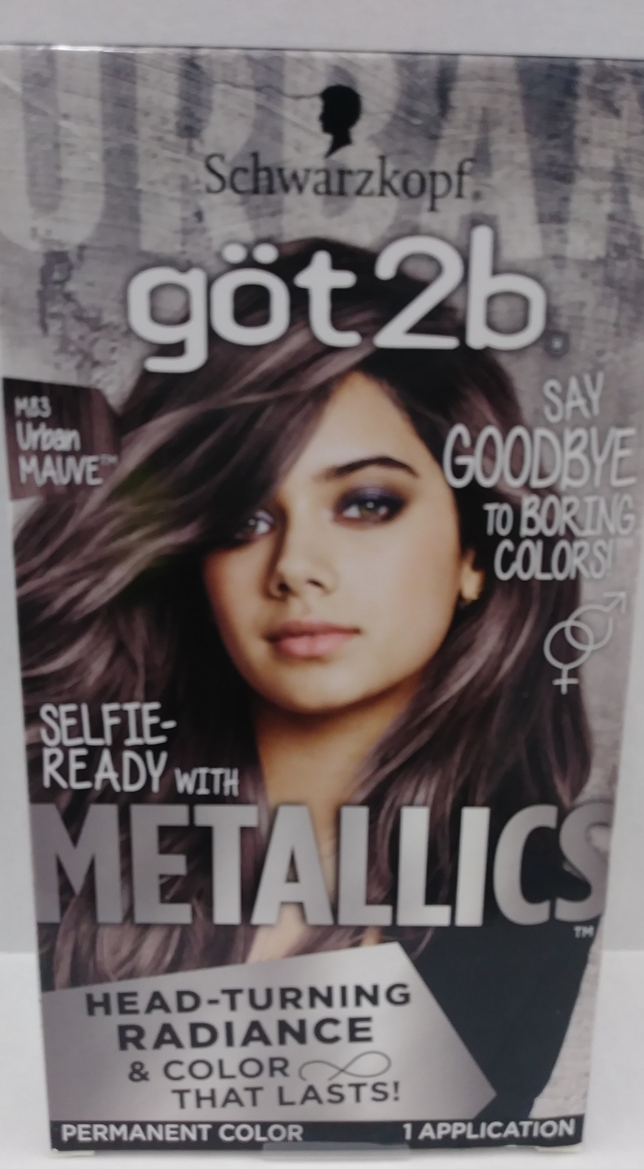 Got2b Metallic Permanent Hair Color M83 Urban Mauve Permanent