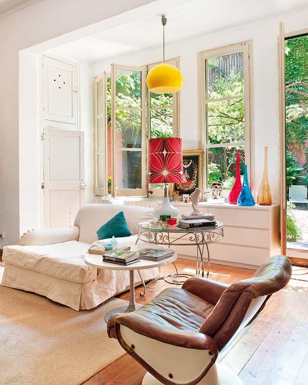 Una casa de patio en Barcelona   Bohemio / Boho -chic /Gipsy ...