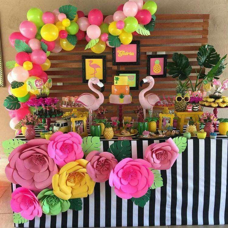 Aloha Alaya Your First Birthday Decoraciones De Fiesta
