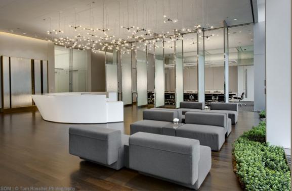 Som Chicago Law Firm Modern Office Architecture Interior Design Community Pinterest