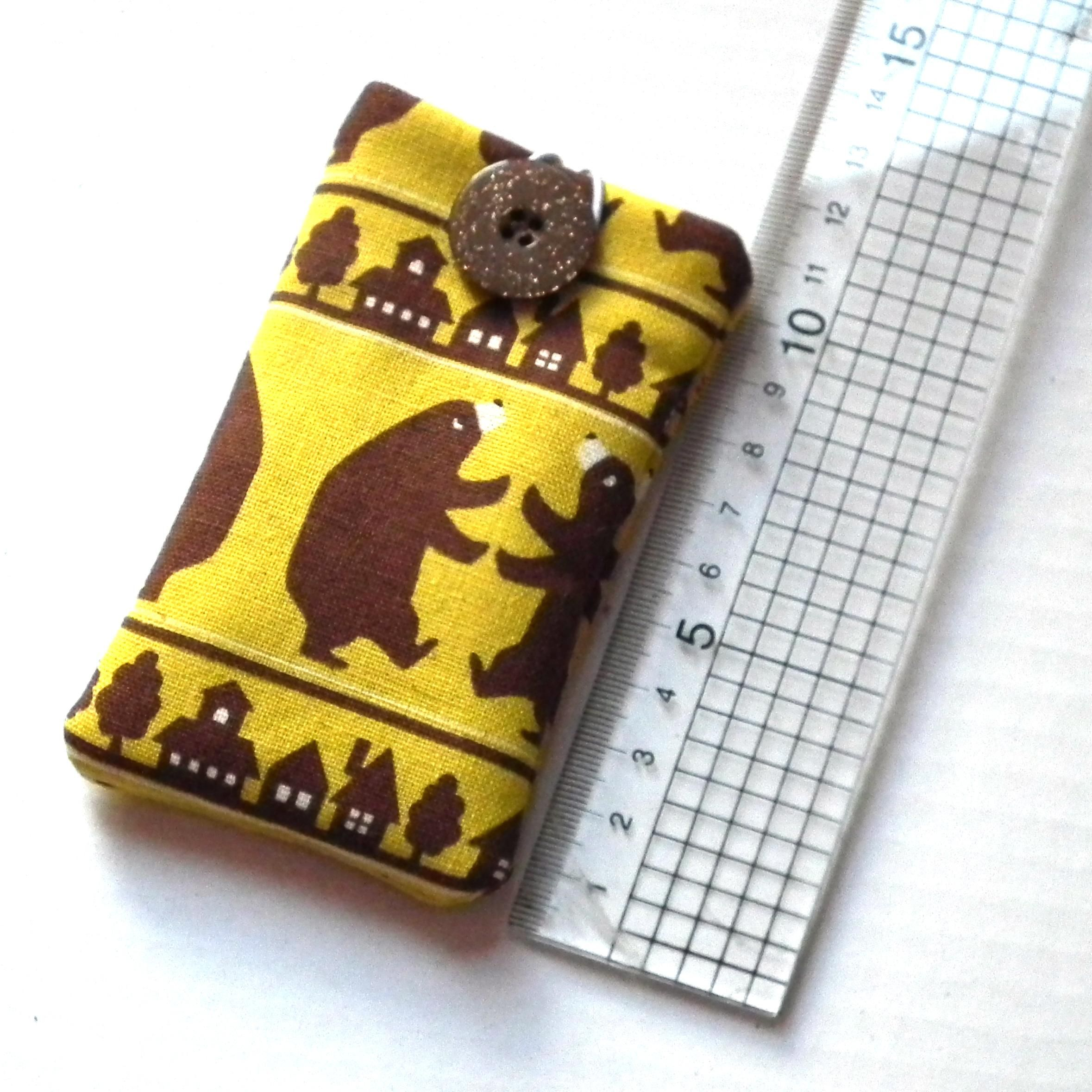 DIY Fabric Phone Case : DIY Easy Peasy IPhone Pouch (With