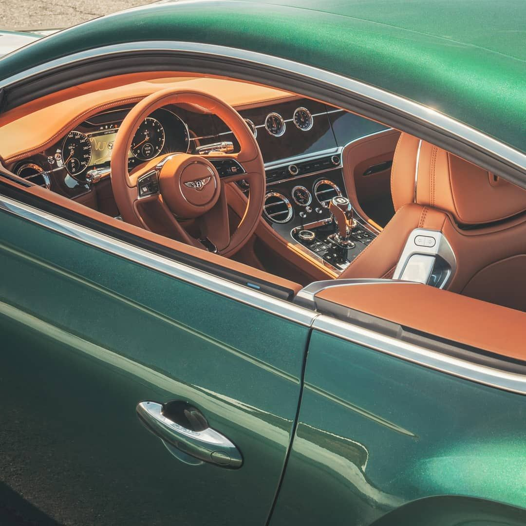From Bentley The new ContinentalGT seen here with
