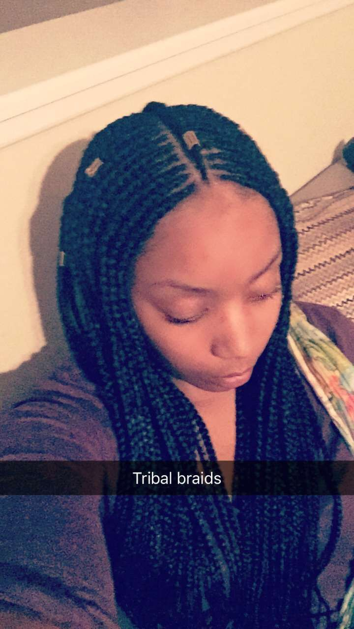 tribal ethiopian inspired braids