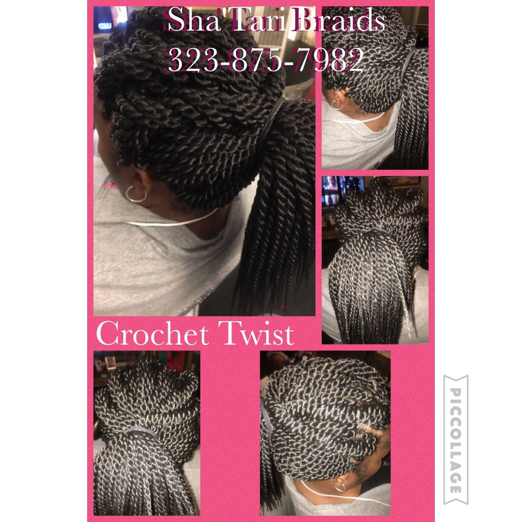 Pin by Shatari Braids on shatari braids | Pinterest | Crochet braid ...
