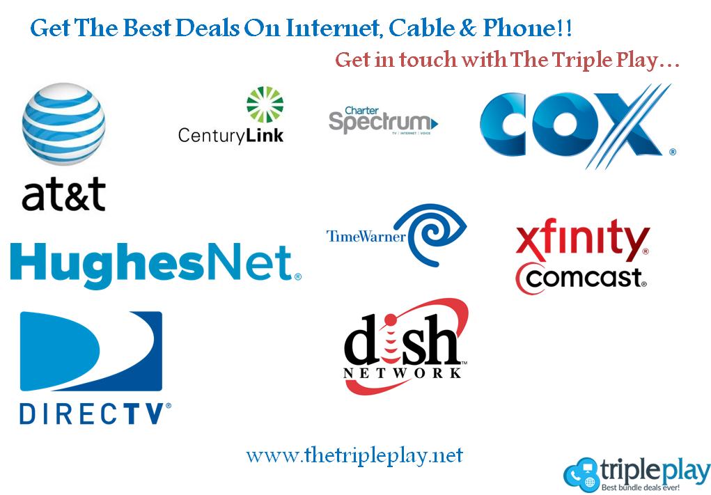 The Triple Play Is The Best Website To Get Details About Various Deals On Internet Cable Phone Ge Tv Providers Internet Service Provider Internet Providers