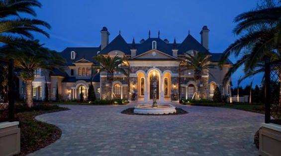 Luxury Homes Beautiful European French Chateau and Italian Villa ...