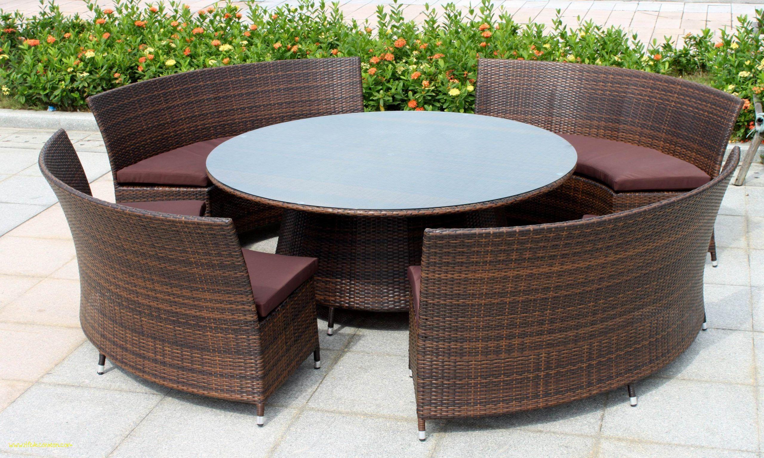 20 New Rattan Garden Furniture Round Table Sets Furniture Round