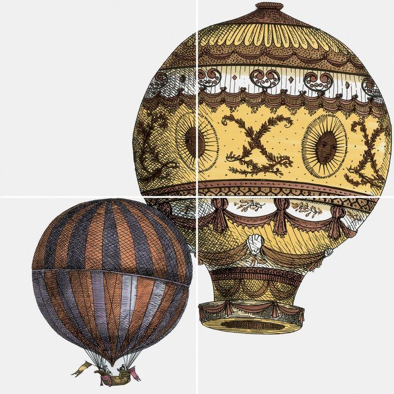 Ceramiche artistiche e piastrelle ceramica design piero - Piastrelle fornasetti ebay ...