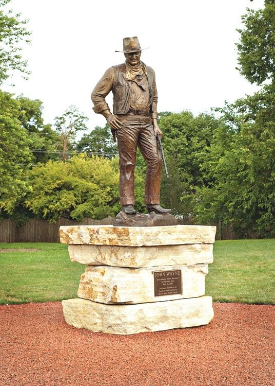 John Wayne Souvenirs Statue En Bronze Bbirthplace Winterset Iowa David Manuel 1981 John Wayne Movies John Wayne John Wayne Quotes