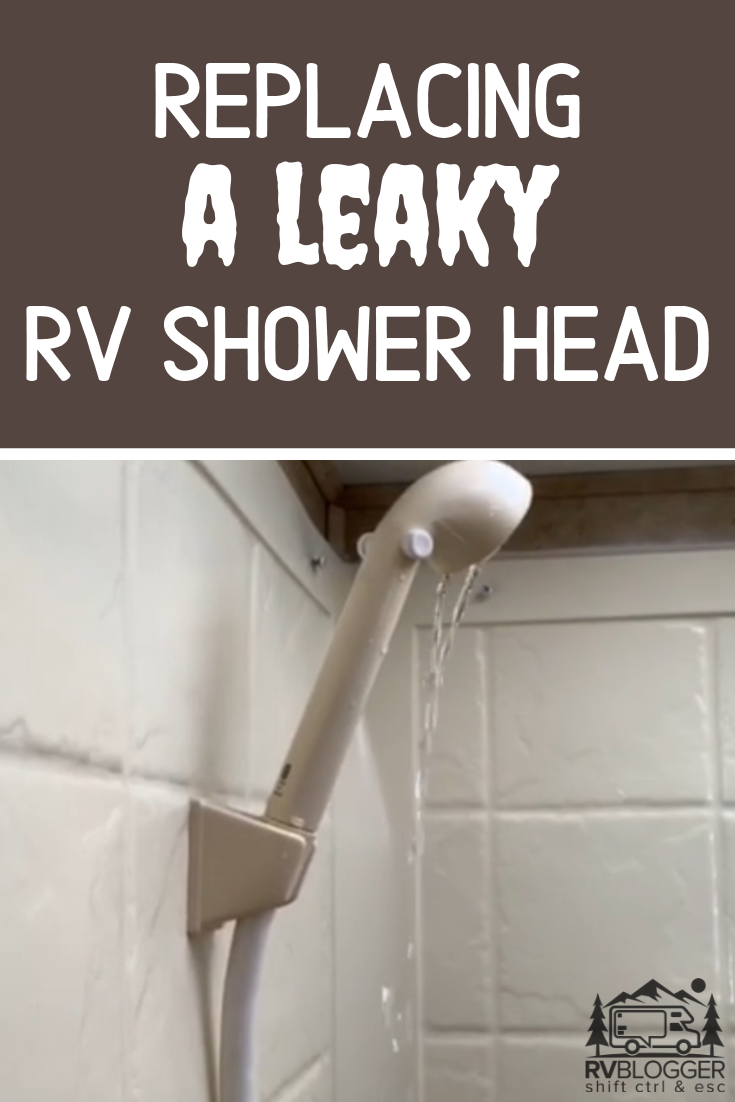 Check Out How We Replaced Our Leaky Rv Shower Head And Faucet