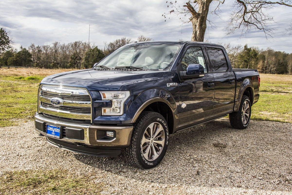 2015 ford f150 king ranch 4x4 in blue jeans metallic with mesa king ranch leather interior. Black Bedroom Furniture Sets. Home Design Ideas