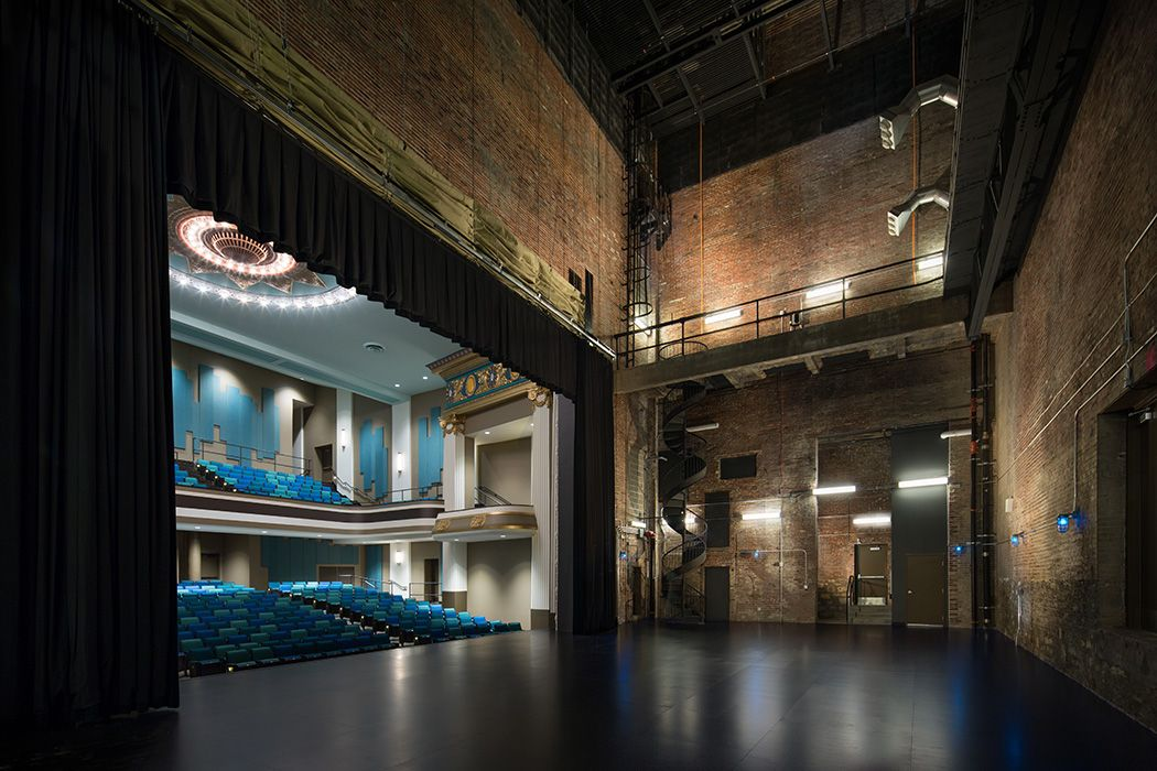 Sun theater historic renovation st louis mo lawrence - Interior design schools in st louis mo ...