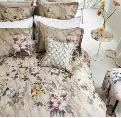 Designers Guild Carrara Fiore Cameo Duvet Cover Ships Free Designers Guild Bed Linen Design Bed Decor