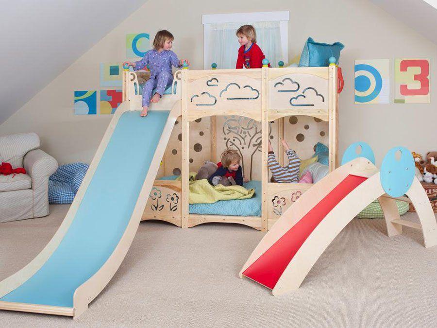 10 camas infantiles originales que encantar n a los peques - Habitaciones ninos originales ...