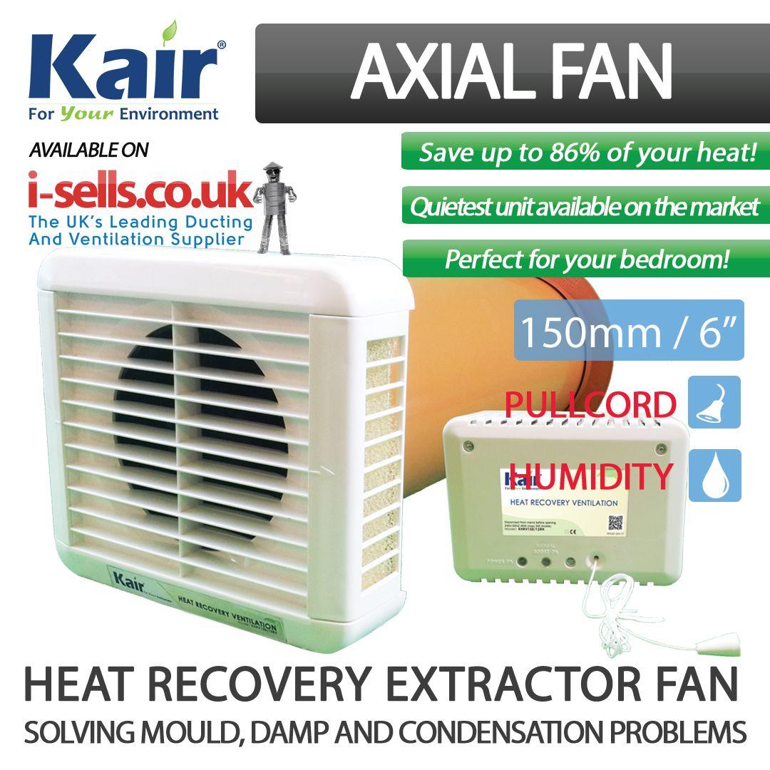 kair heat recovery extractor fan 12vac selv humidistat rh pinterest com heat recovery extractor fan bathroom