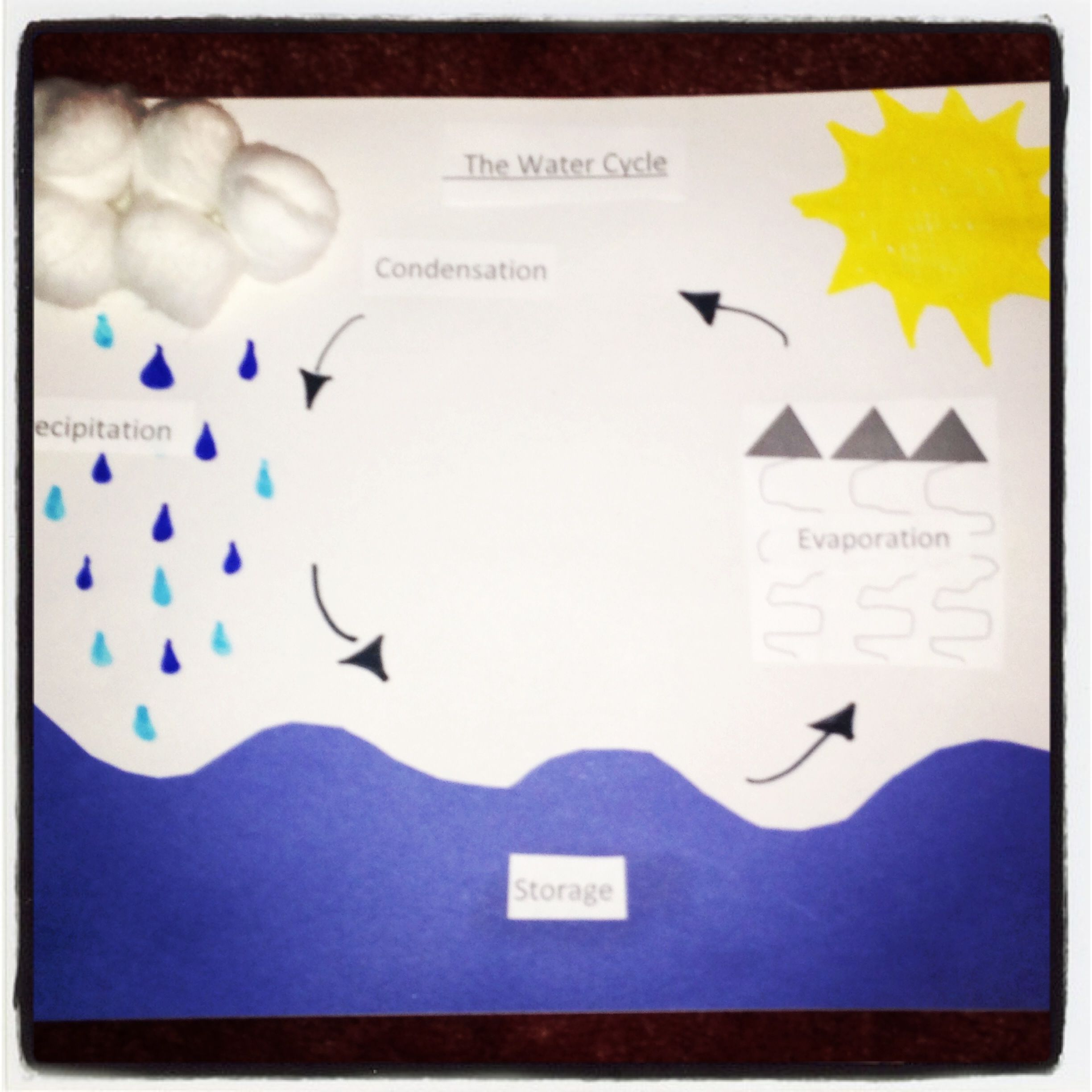 The Water Cycle Great For First Or Second Graders