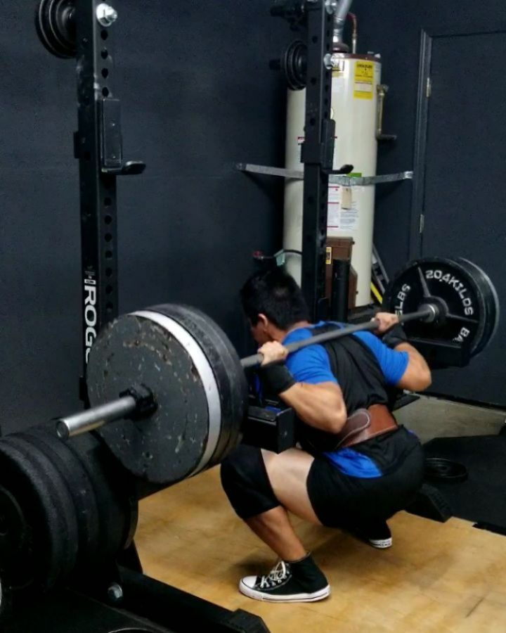 MY FIRST 405 FOR 5 IN YEARS, and I did 2 sets. Many of you may know that I've been plague with a back problem for a couple years now and it has really held back my squat for a while. Well after adding a whole lot of core strengthening exercises over the passed year or so, I think it's safe to say that my back is now very happy, for now atleast.