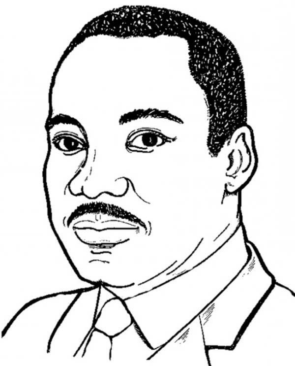 Martin Luther King Jr was Born in Atlanta Georgia Coloring Page ...