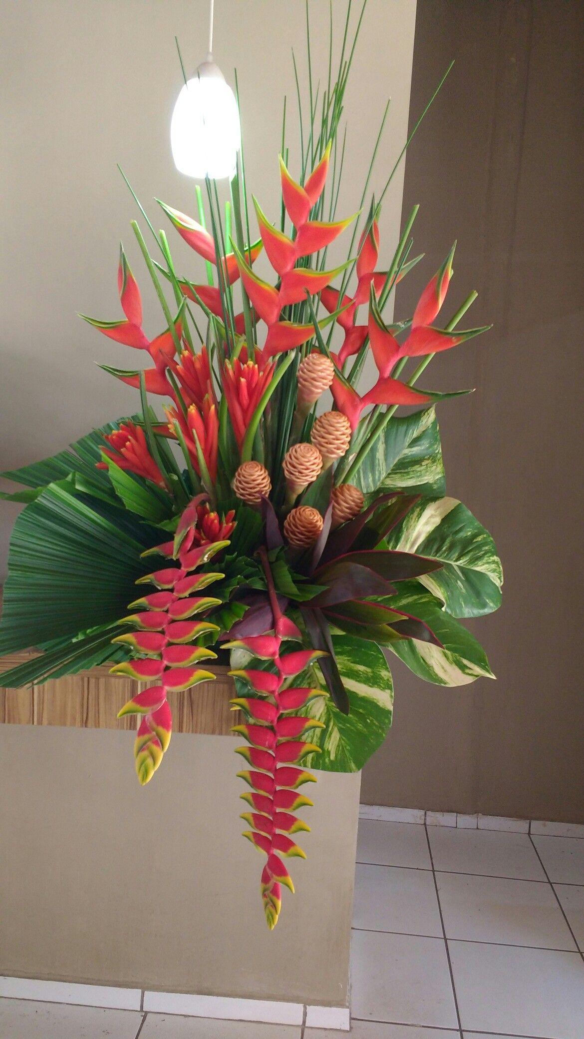 Flower Decoration Arranjos De Flores Tropicais Arranjos De