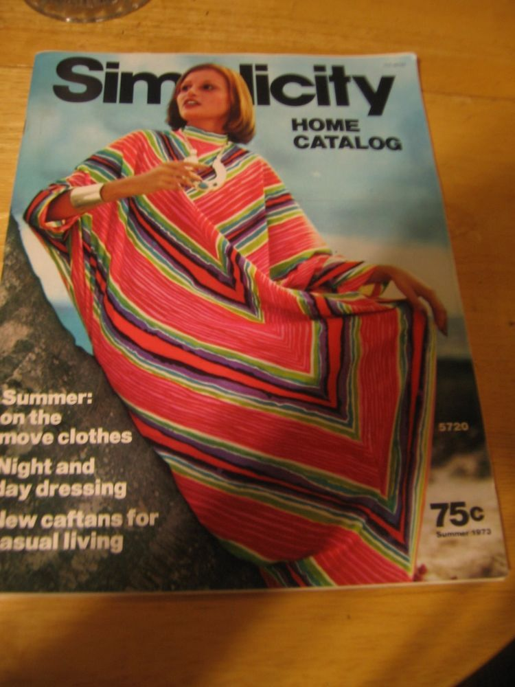 . 1973 Simplicity Home Catalog   Clothing  Fashion and Home