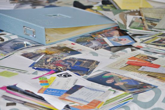 IHeart Organizing: UHeart Organizing: A Scraptastic Planning Process!--I like some of these ideas.