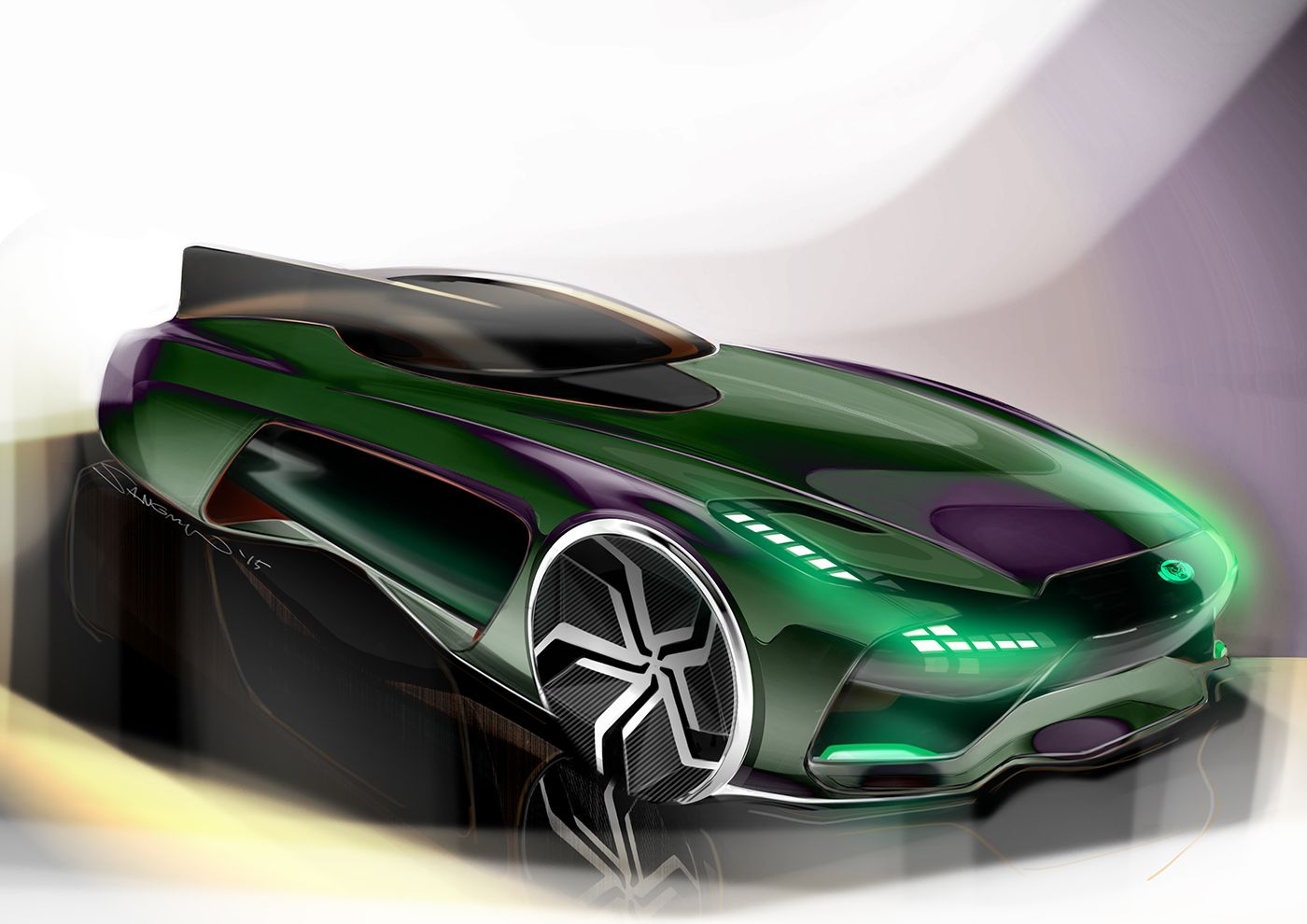Marvelous 2025 Jaguar 2 Seater Sports Car On Behance