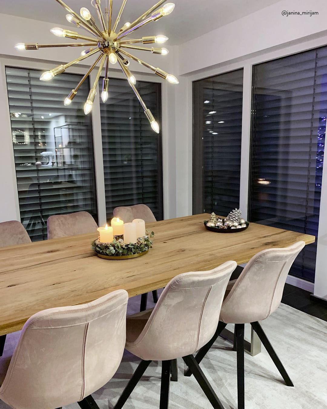 Pin Von Simone Steeg Auf Wohnen Esstisch Modern Esstisch Stuhle Modern Pendelleuchte Esstisch