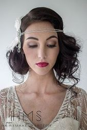 Photo of Super Flapper Girl Frisuren für langes Haar #gatsbyhairstyles Super Flapper Gir …