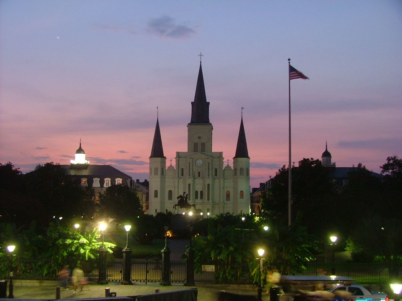 New Orleans, it may look like Disney World…but it's not!