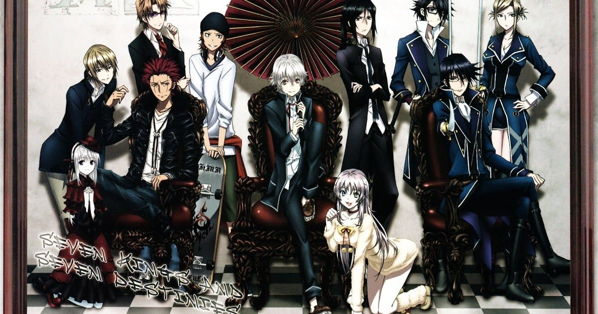K Project Anime Hd Wallpapers K Project Anime Anime Hd Anime