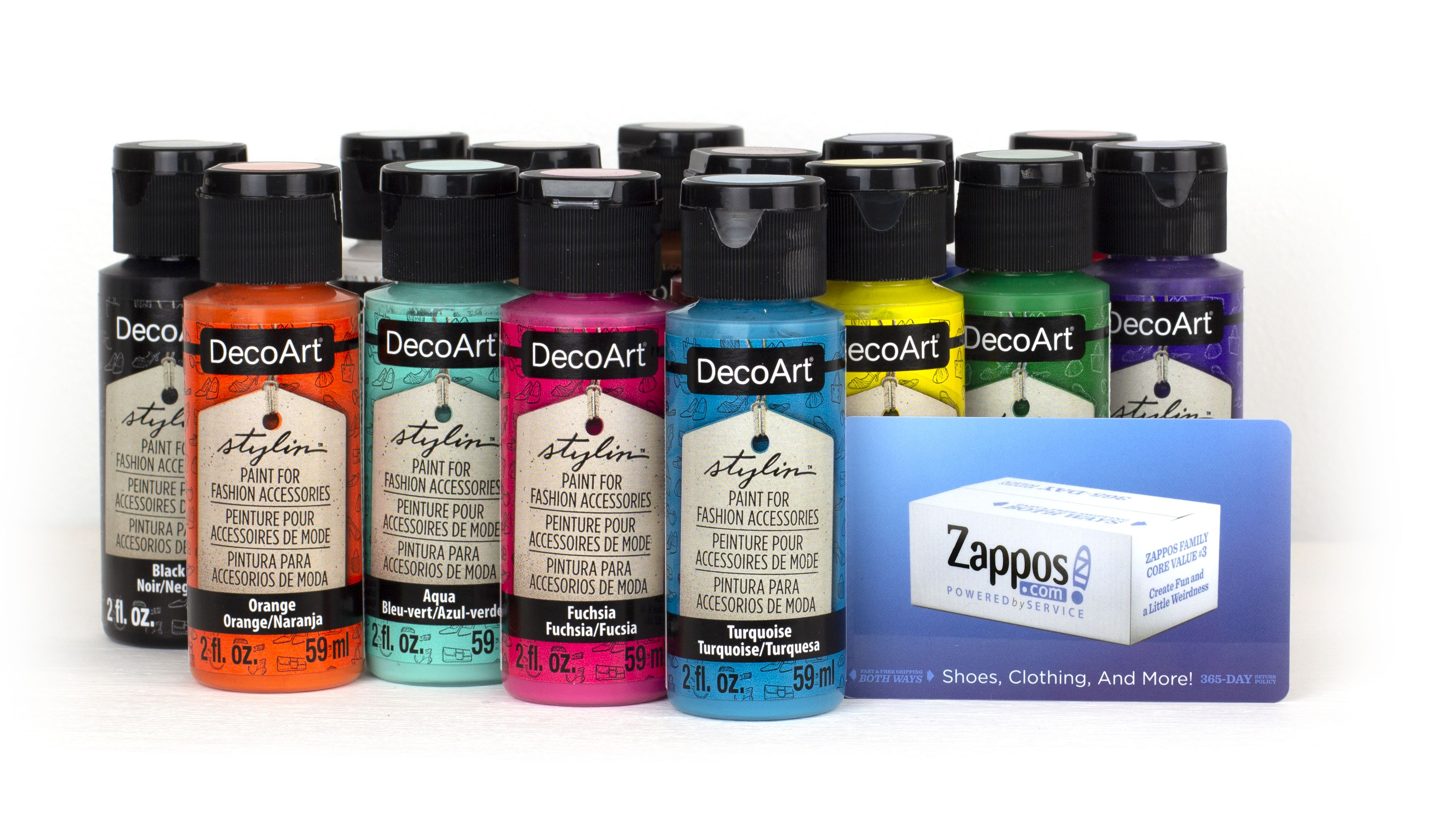 Decoart stylin paint prize pack giveaway with images