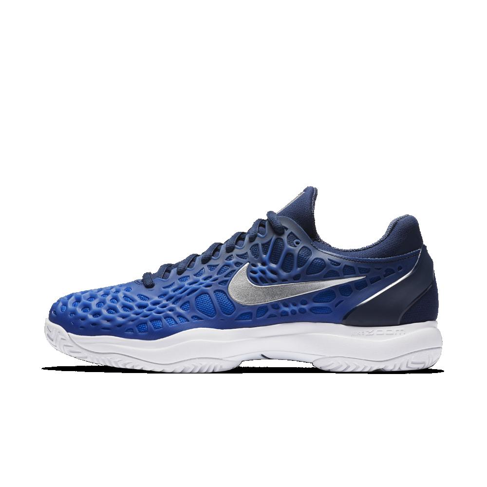 963e2d0d300 Nike Zoom Cage 3 Men s Tennis Shoe Size 11.5 (Blue)