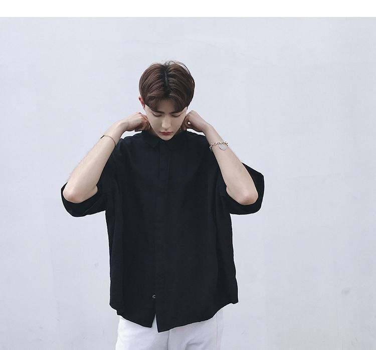 ae57682d Japanese Harajuku Men's Loose Bat Sleeve Shirt | harajuku | tokyo | japan |  japanese