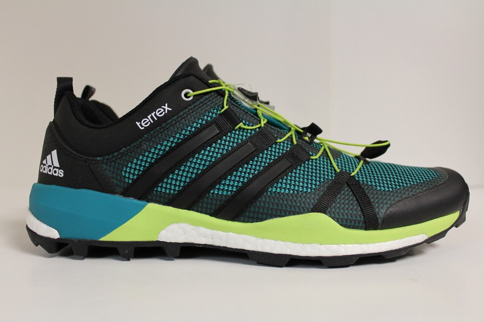 e9ee63285a67 Men s Adidas Terrex Skychaser Trail Running Hiking EQT GREEN AF6035 Sz 14