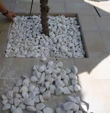 Resultado de imagen para piedras blancas jardin