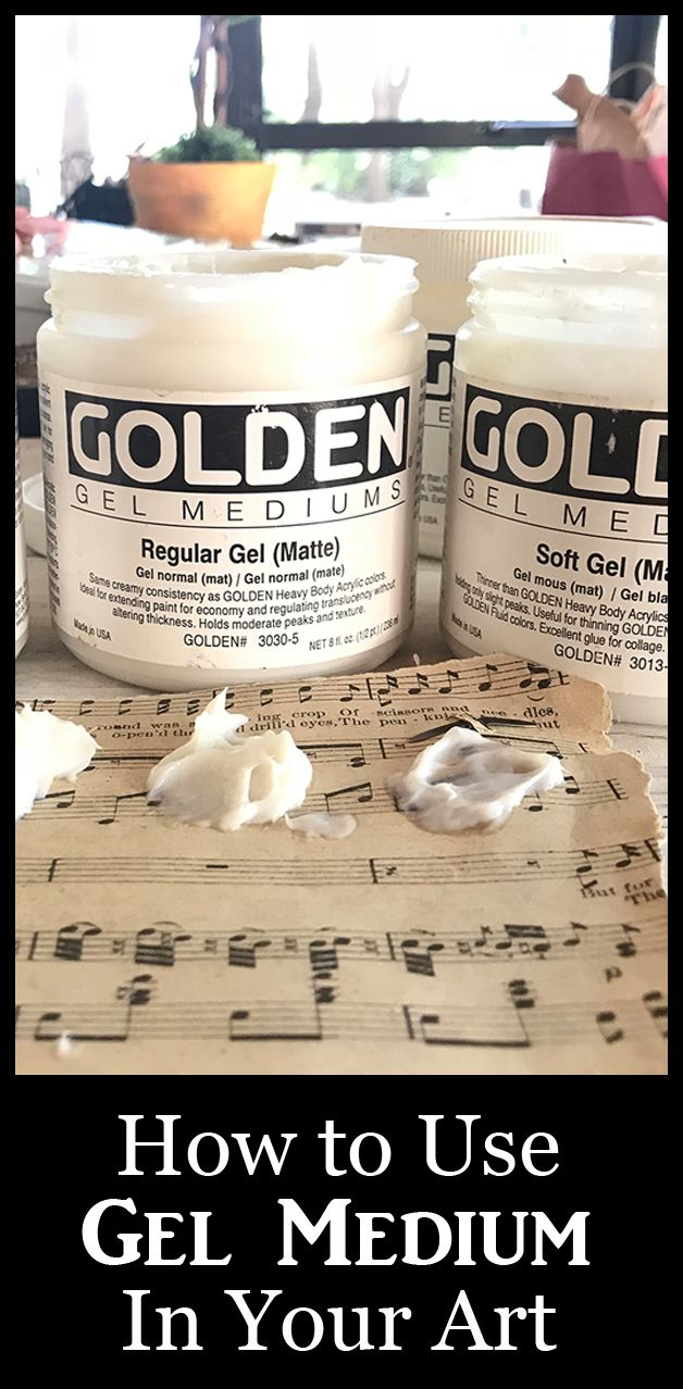 Learn how use Gel Medium, in your Art. This versatile craft supply is a must have for Junk Journalers, Crafters, Artists and Mixed Media Artists. Great tips included!