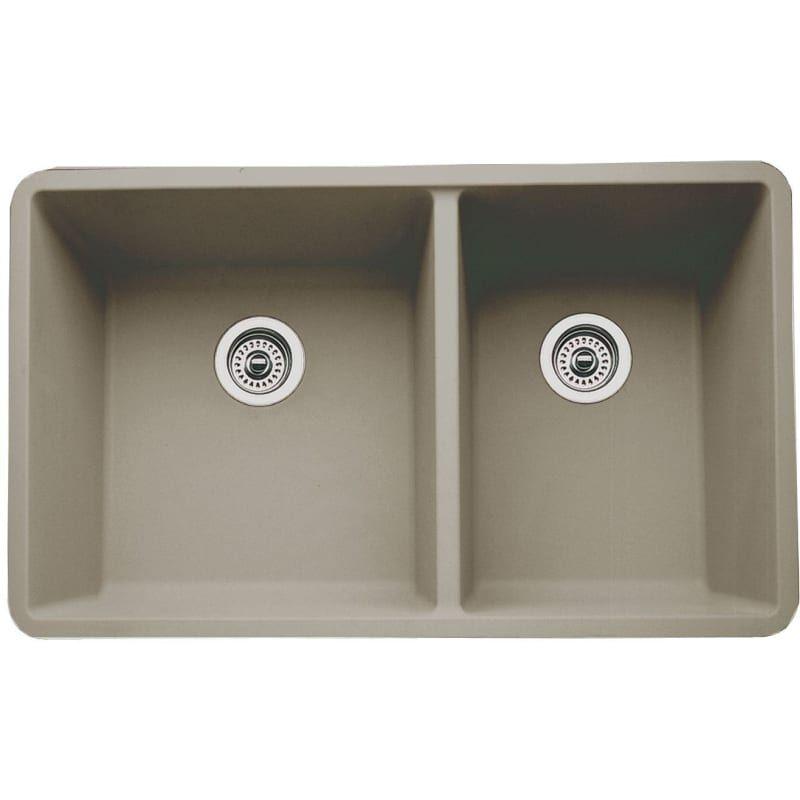 Blanco 441296 Double Bowl Kitchen Sink Sink Granite