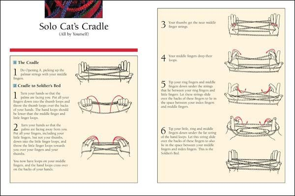 How to do Cat's Cradle EASY! Step by step, with string ...