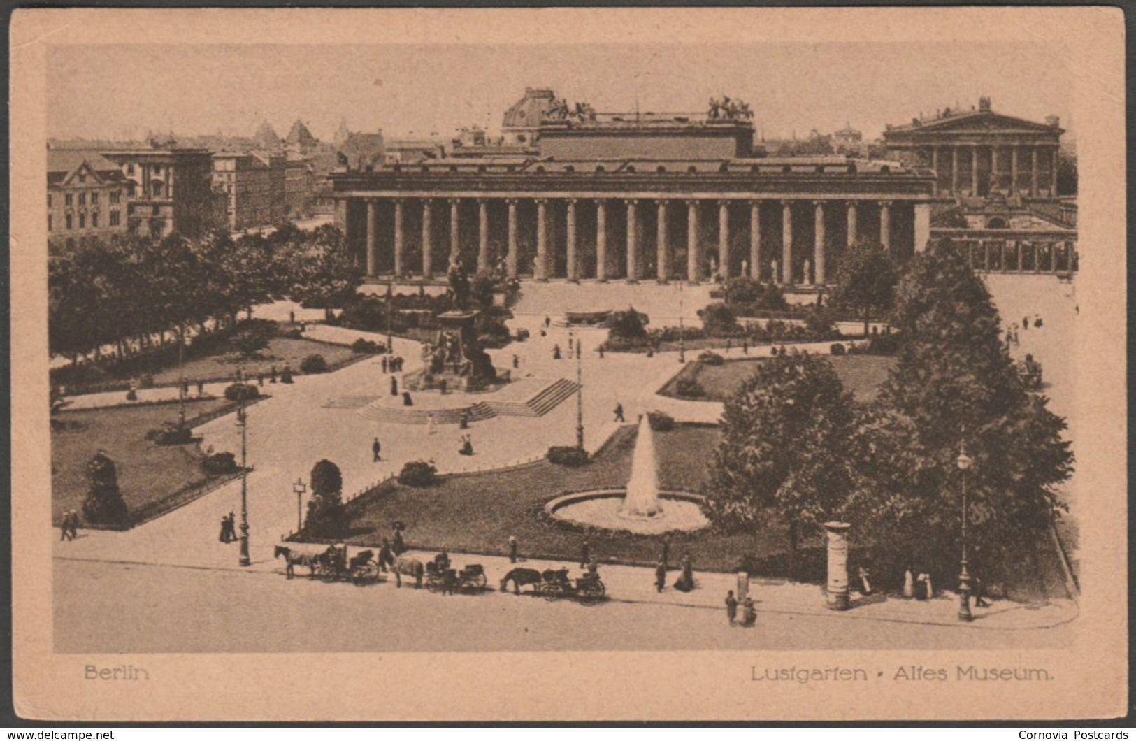 Lustgarten Und Altes Museum Berlin Deutschland C 1920 Jwb Ak Item Number 555794165 Postcards For Sale