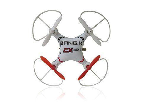 Drone Video at Sceek.com 8pcs Plastic guards Set for CX-14/CX023 RC Quadcopter (White)