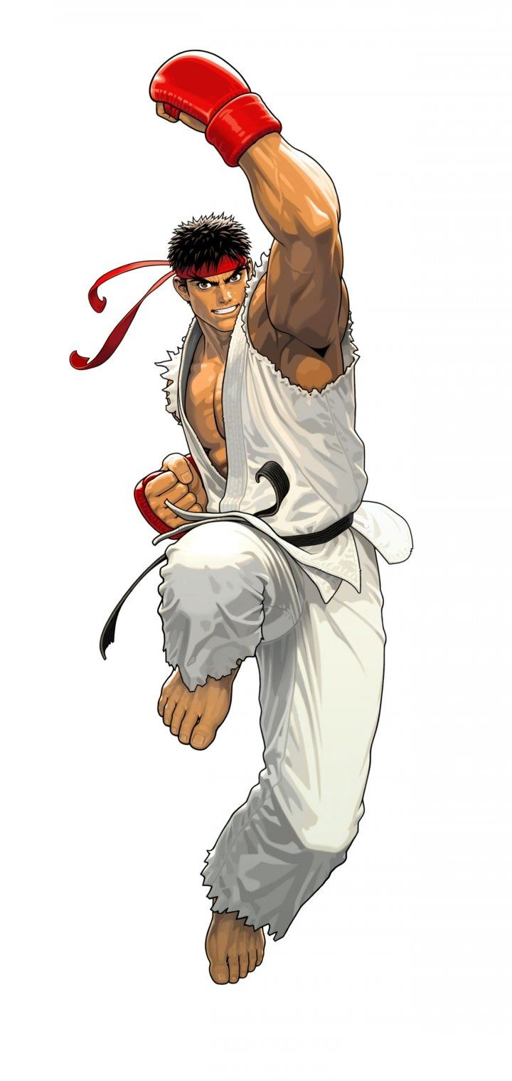 Ryu By Shinkiro Tatsunoko Personagens Street Fighter Street Fighter Lutador De Rua