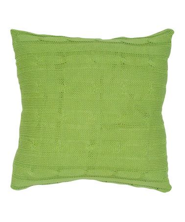 Take a look at this Lime Pillow by Rizzy Home on #zulily today!