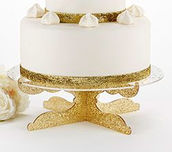 Elegant and party ready our Party Time Gold Glitter Acrylic Cake Stand is made from  sc 1 st  Pinterest & Elegant and party ready our Party Time Gold Glitter Acrylic Cake ...