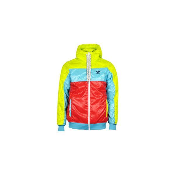 stylefile.com - Adidas Street Windbreaker jacket acidbuzz (€100) found on  Polyvore 3db2cc1894