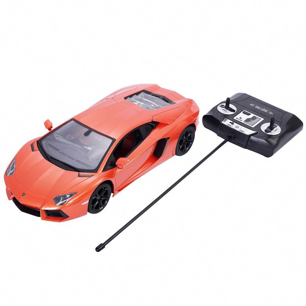 Lamborghini Aventador Lp700 4 Radio Remote Control Rc Car Orange Scale 1 24 Lamborghini Aventador Lp700 4 Lamborghini Aventador Lp700 Lamborghini Aventador