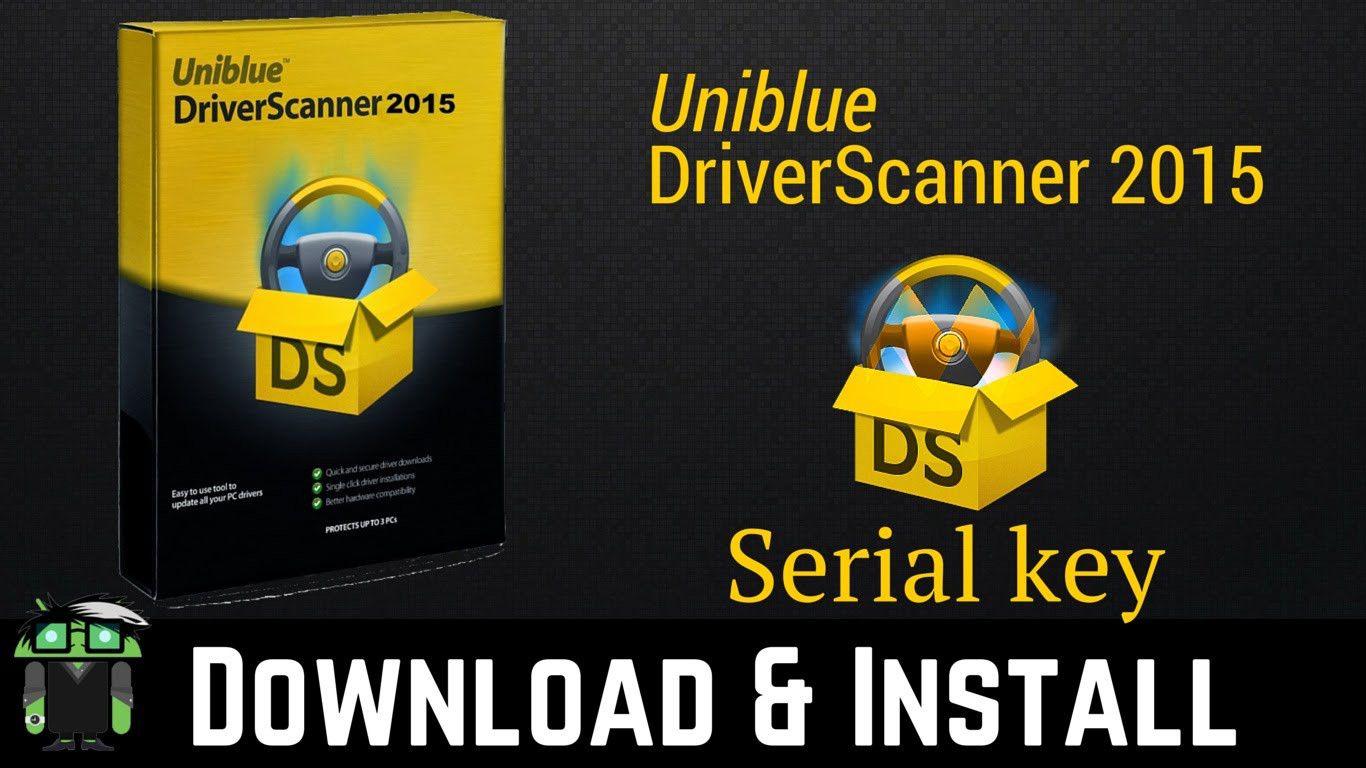 Uniblue driverscanner 2015 serial keys crack download